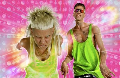 Yolandi Visser die antwoord : Top Party DJ Kansas Fun Music Party